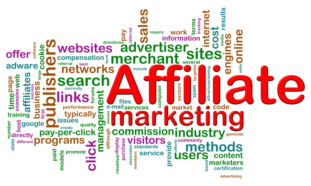 Make money online with affiliate marketing.