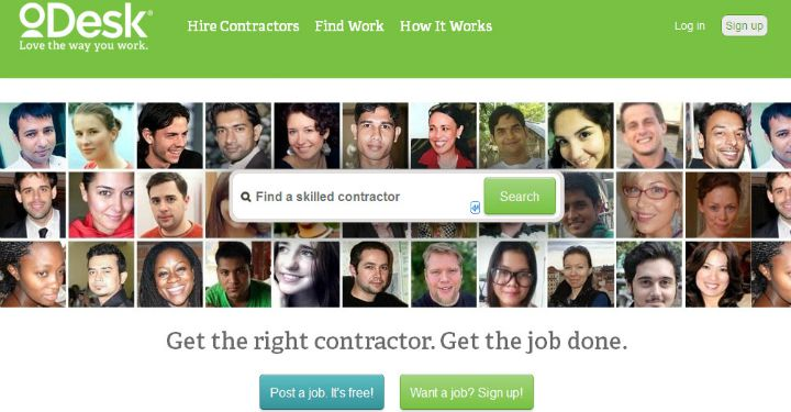 Make money by becoming a freelancer at oDesk.com