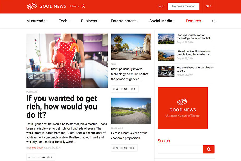 To get to the top of google and stay there, build a beautiful website