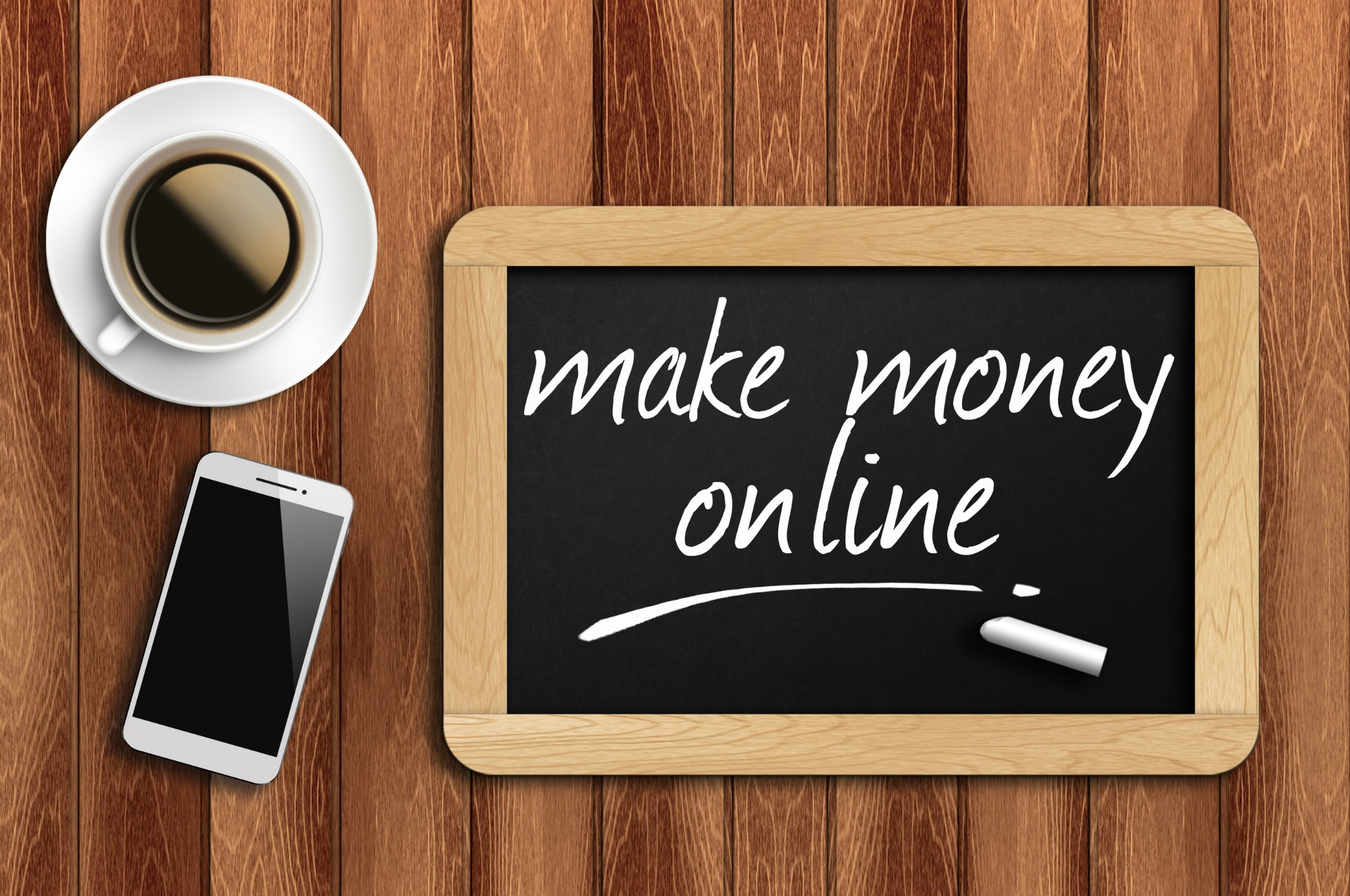 5 Real Ways to Make Money line From Home