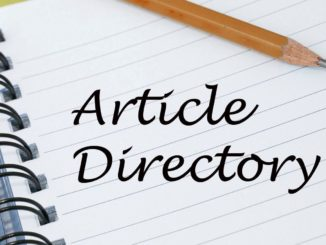 Definition of Article Directory