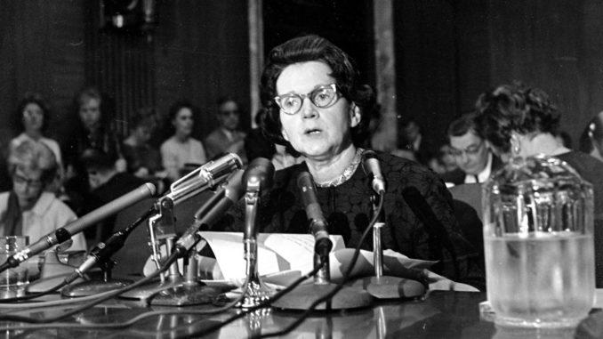 The Silent Spring by Rachel Carson