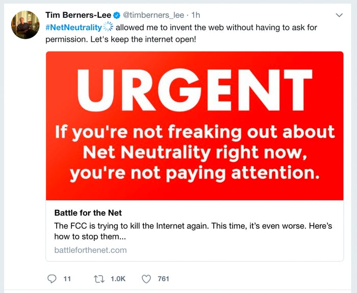 Protect the Open Internet Fight for Net Neutrality