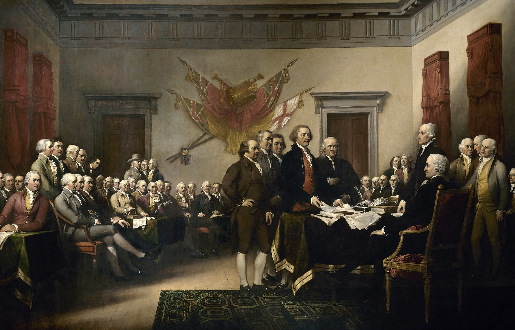 John Trumbull Declaration of Independence Painting