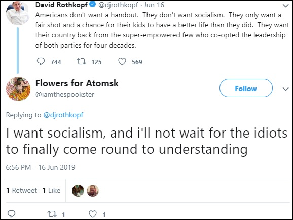 Who is Connor and did he want Socialism?