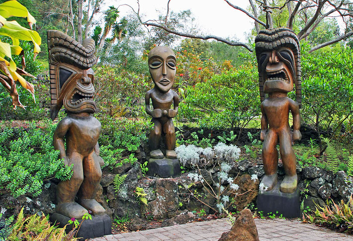 Polynesian Genuine Tiki Masks